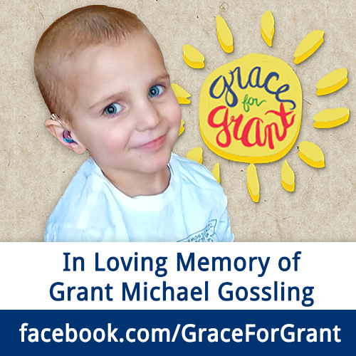 In loving memory of Grant Michael Gossling